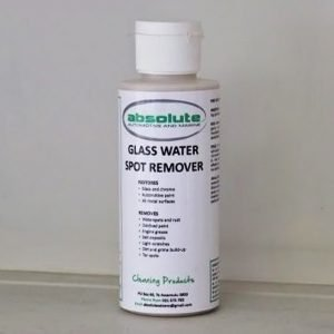 absolute glass water spot remover cleaning product