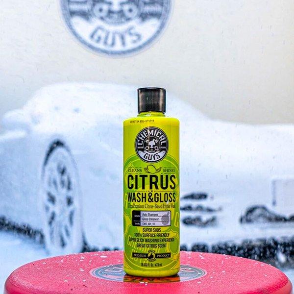citrus wash & gloss car shampoo