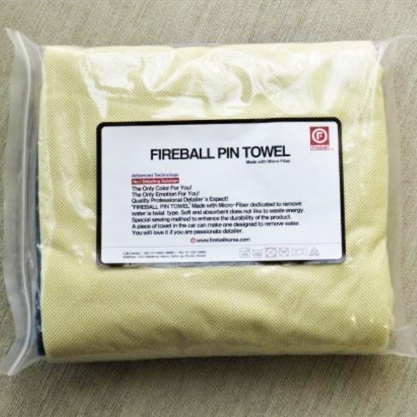 Fireball Pin Towel for ultimate drying and cleaning