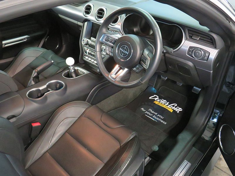 Interior vehicle detailing by Doctor Cuts Detail Shop