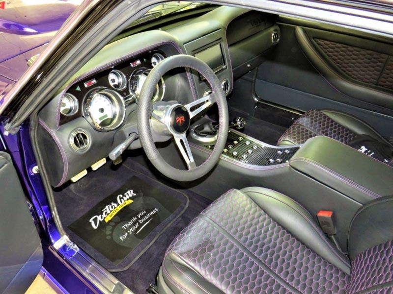 Interior Vehicle Detailing of Venom