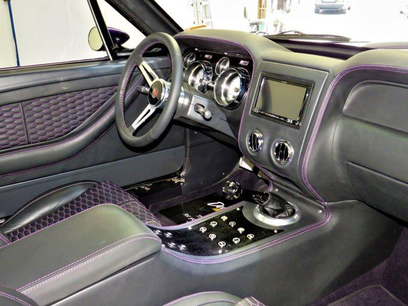Interior Vehicle Detailing of venom dashboard