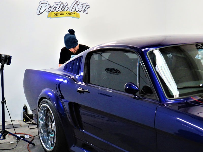 Application of PPF for superior paint protection
