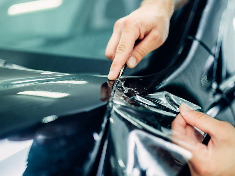 Doctor Cuts Detail Shop paint protection film application